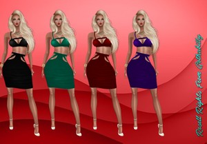 Tanya Dresses Catty Only!!!