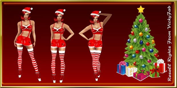 Xmas Outfit 2 Catty Only!!!