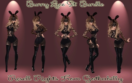 Bunny Lace Bundle Catty Only!!!