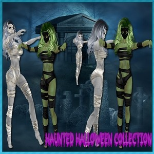 Haunted Mummy Collection Resell Rights!!!! 0/6 People