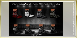 Alois Female Boots Catty Only!!!!