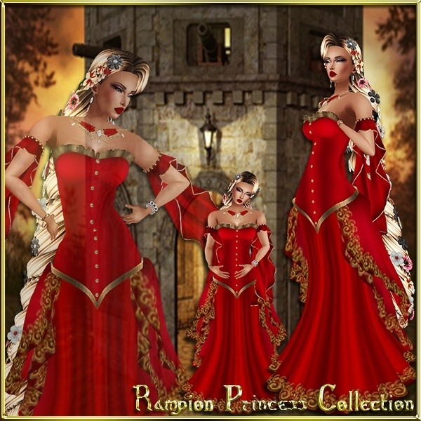 Rampion Princess Collection Limited Catty Only!!!!