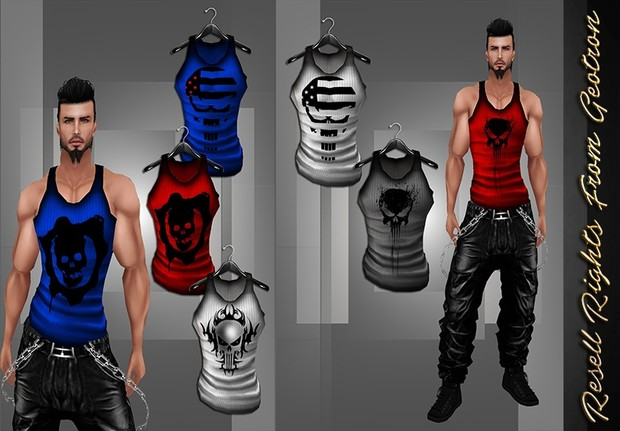 Muscle Tanks Catty Only!!!!