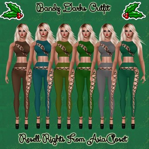 Bandz Darks Outfit Catty Only!!!