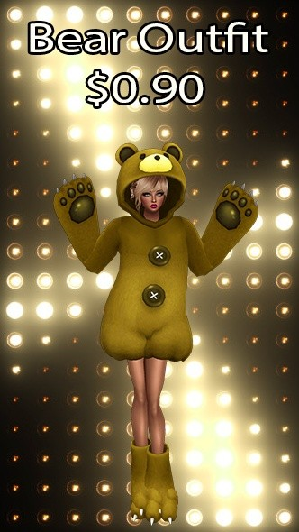 Bear Outfit v22 Texture