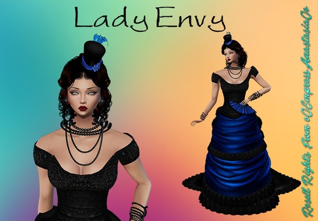 Lady Envy No Resell 0/3 People Limited