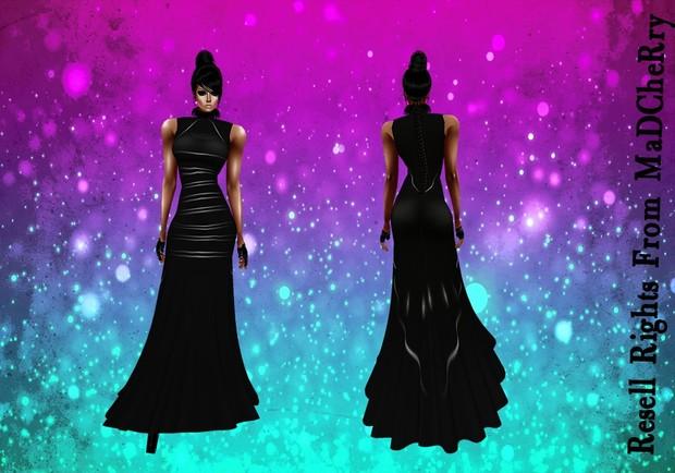 Long Dark Dress Catty Only!!!