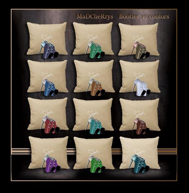 Booties 17 Colors