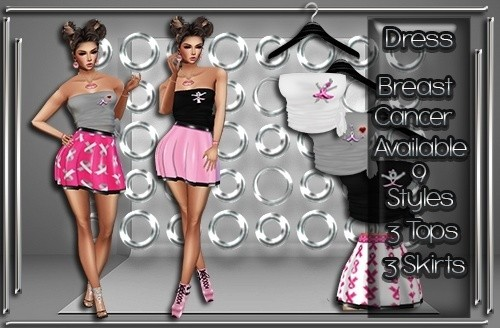 Breast Cancer Skirt & Top Set Master Resell Rights!!! 0/6 People