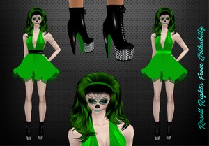 Zombia Monroe Bundle Catty Only!!!