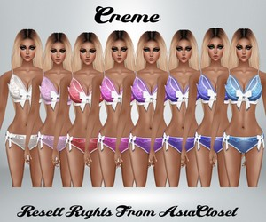 Creme Lingerie Catty Only!!!