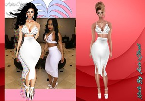 Lovely White Dress Resell Rights!!!