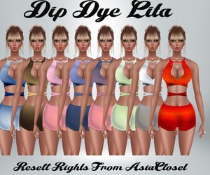 Dip Dye Lita Catty Only!!!