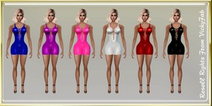 Pvc Dresses Catty Only!!!