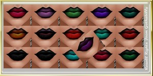 x16 KD COLOURS LIPS Catty Only!!!