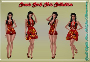 Comic Book Chic Collection Catty Only!!!