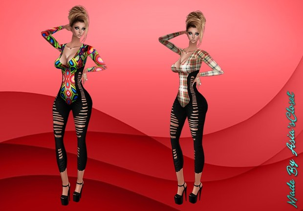 Donna Outfit Bodysuit Exclusive (Resell Rights)