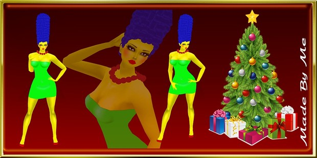 Marge Simpson Cartoon Limited Catty Only!!!