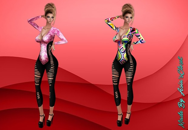 Donna Outfit Bodysuit Exclusive