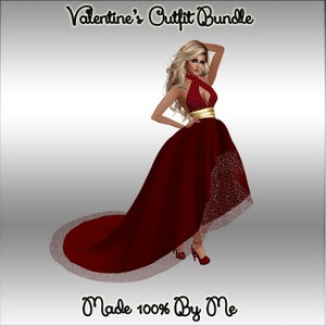 Valentine's Outfit Bundle Catty Only!!!
