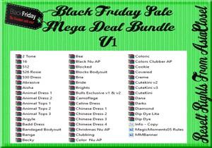 Black Friday Sale Mega Deal Bundle V1 Catty Only!!!