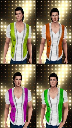 Christmas Vest & T-Shirt Textures