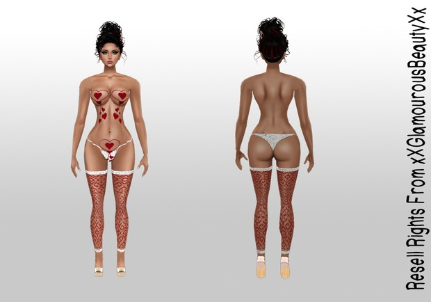 Valentine's Sexy Lingerie AP Catty Only!!!!