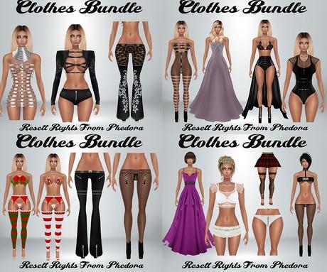 Clothes Bundle - Phedora Catty Only!! (27 Pieces) AP & GA