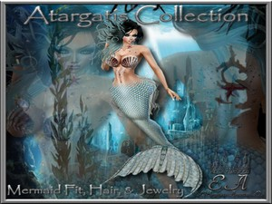 Atagatis Mermaid Collection Catty Only!!!