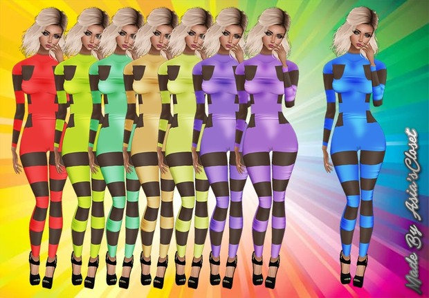 Bandaged Bodysuits RL, RLL, RLS Sizes Catty Only!!!!