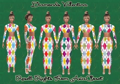 Diamonds Valentina Catty Only!!!!
