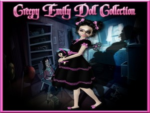 Creepy Emily Doll Collection Catty Only!!!!