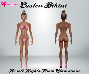 Easter Bikini AP Catty Only!!!