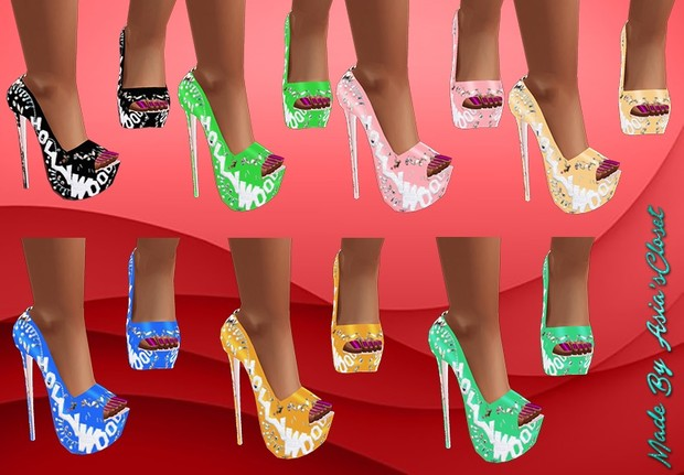 Donna Hollywood Shoes Resell Rights!!!