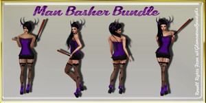 Man Basher Bundle Catty Only!!!