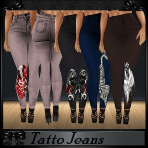 Tattoo Jeans NO RESELL