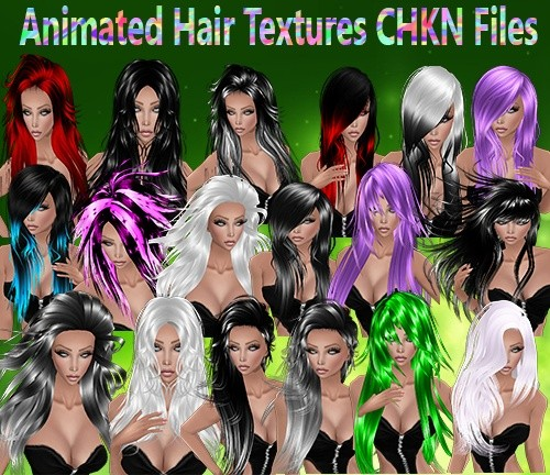 Animated Hairstyles CHKN Files