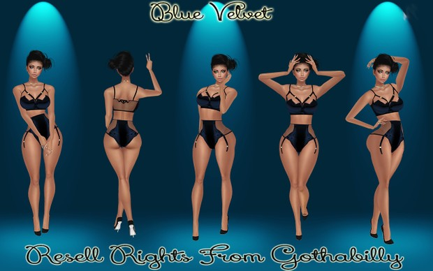 Blue Velvet Catty Only!!!