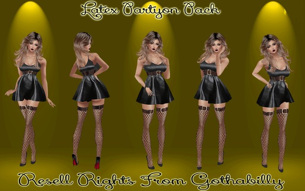 Latex Partyon Pack Catty Only!!!