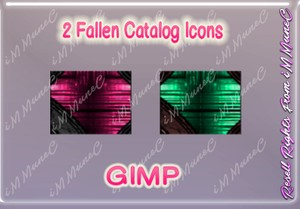 2 Fallen Catalog Icons GIMP (Halloween)