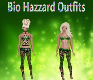 Bio Hazzard Outfits