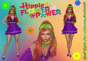 Hippie Flower Power Bundle Resell Rights 0/3 People Limited