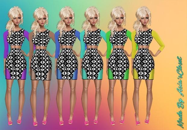 Maria Dresses v2 Catty Only!!!