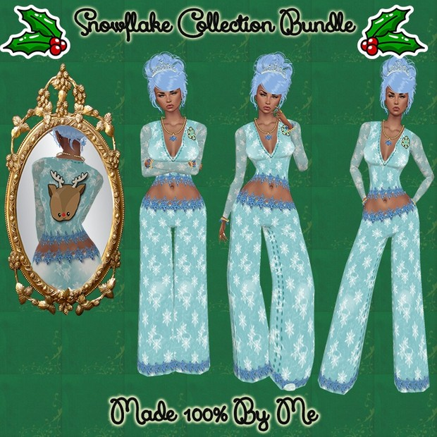 Snowflake Collection Bundle Catty Only!!!