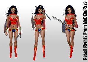 Wonder Woman Catty Only!!!