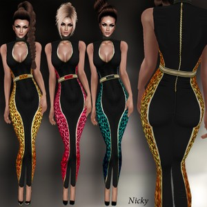 Nicky 3 Outfits