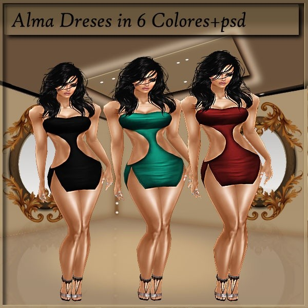 Alma Dresses With Resell Rights