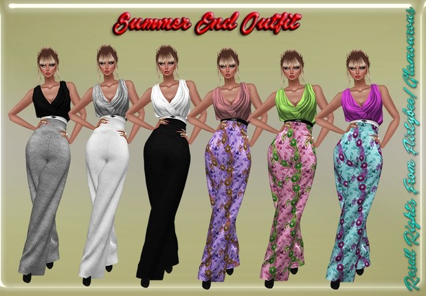 Summer's End Outfit Catty Only!!!