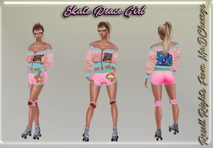 Skate Peace Girl Catty Only!!!