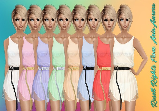 Melody Summer Dresses With Resell Rights